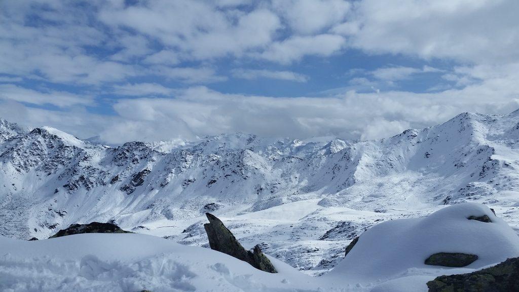 Snowy, White Alps, with Glockturm somewhere nearby