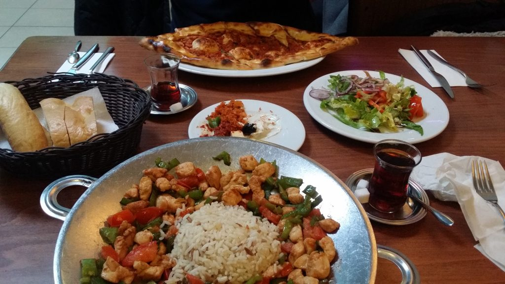 Awesome lunch at Saray restaurant, Bonn, Germany