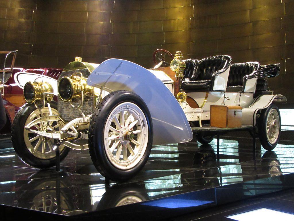 Fancy car at Mercedes-Benz Museum