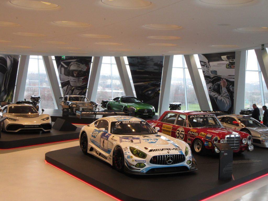 Race Mercedes-Benz automobile