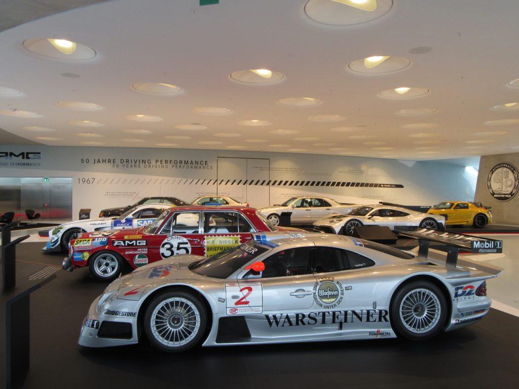 New age racing Mercedes-Benz at Mercedes-Benz Museum