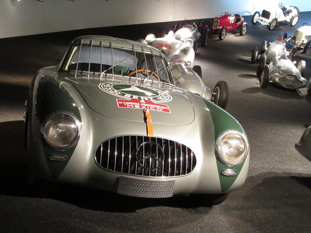 Racing Mercedes-Benz car