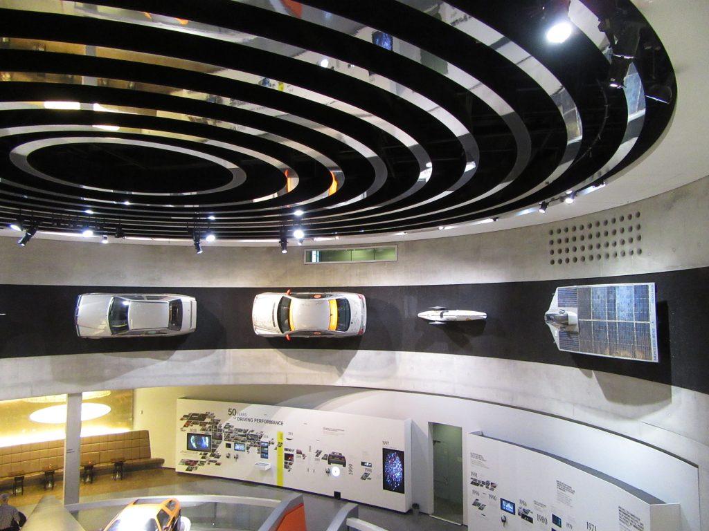 Mercedes-Benz Museum concept area