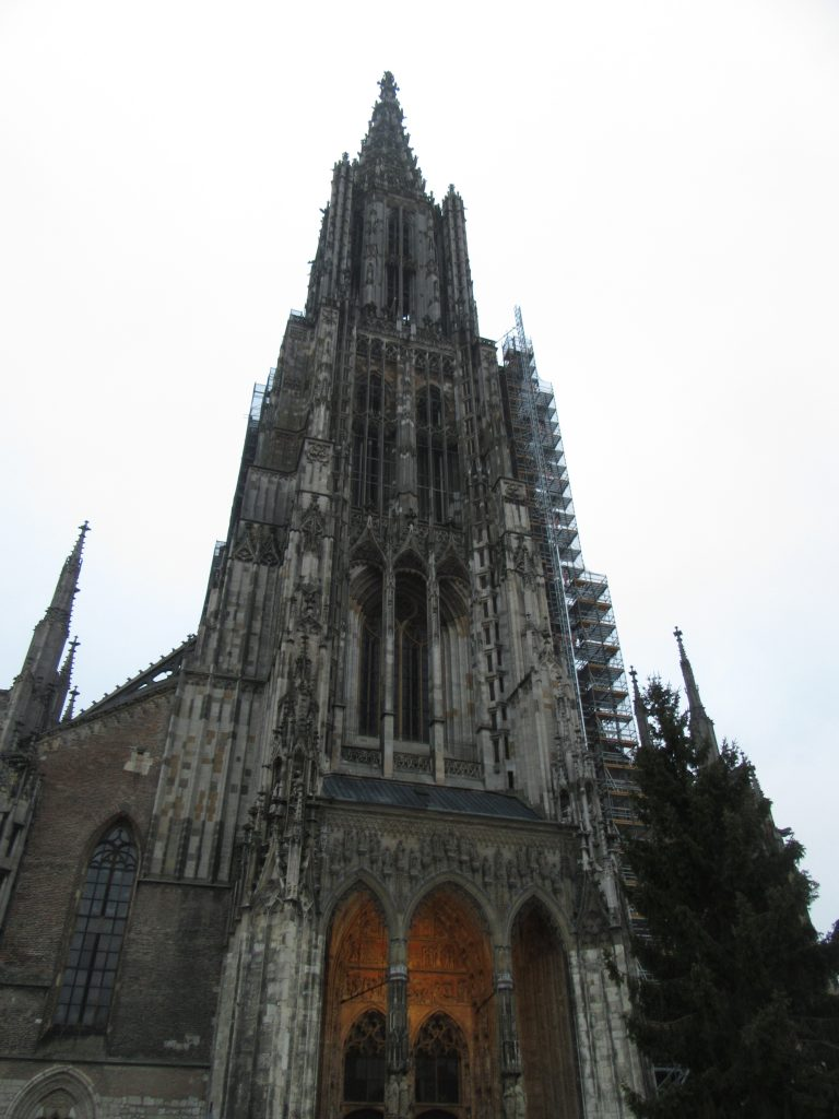 Ulm Minister, cathedral, visiting Ulm
