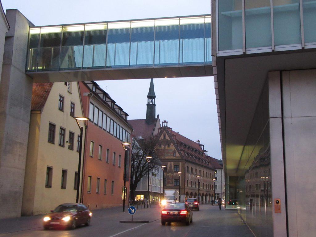 Ulm city, architecture at Ulm, Germany