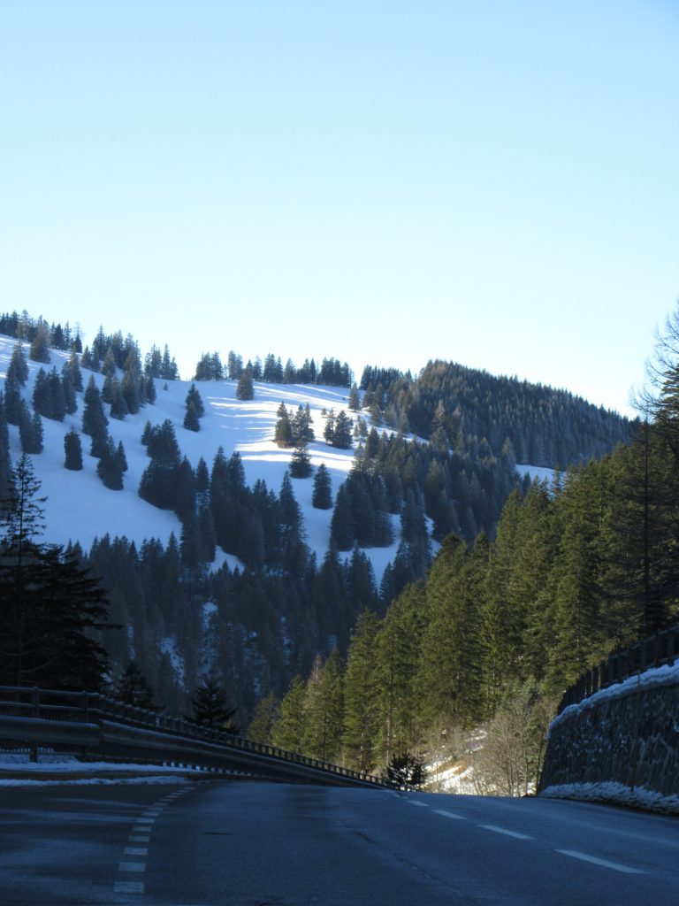 Alps beyond Triesenberg, Liechtenstein