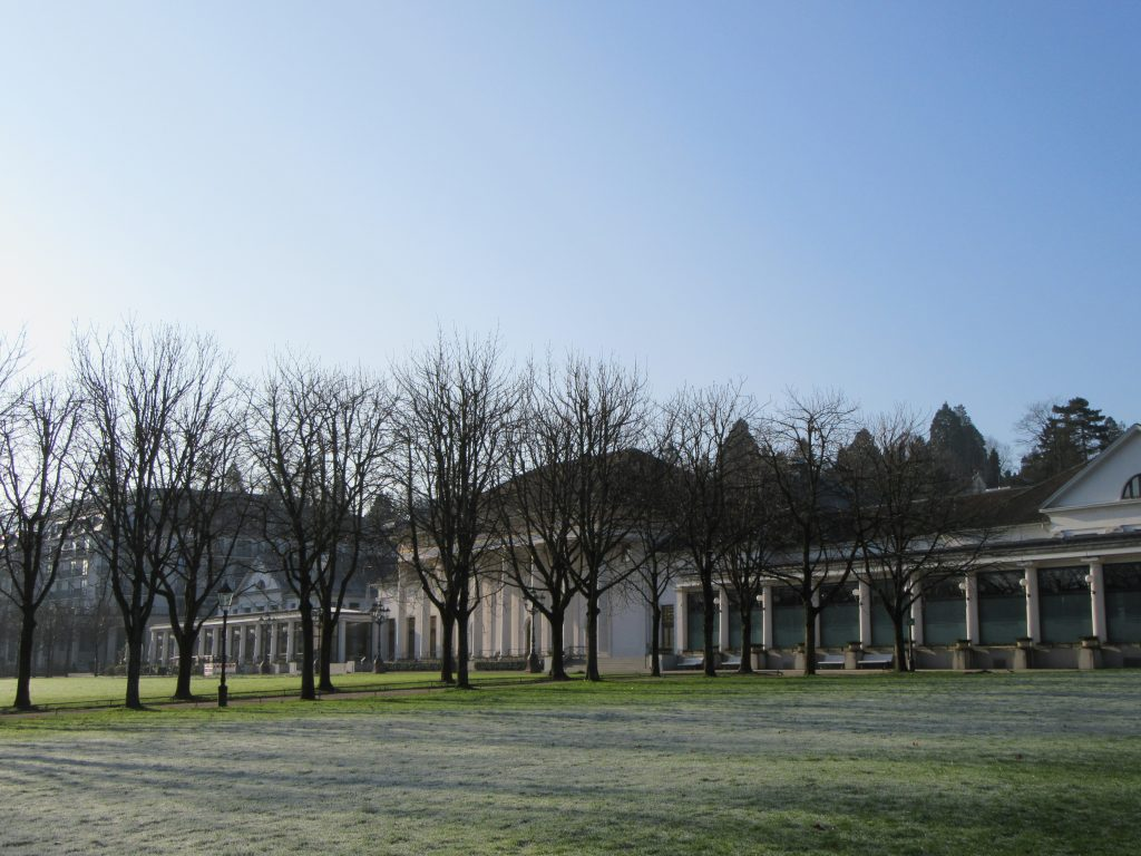 Casino of Baden-Baden in the winter