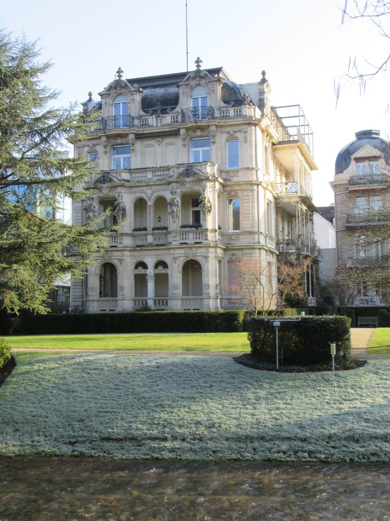 Extremely detailed architecture at Baden-Baden