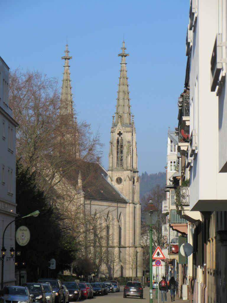 City church at Baden-Baden