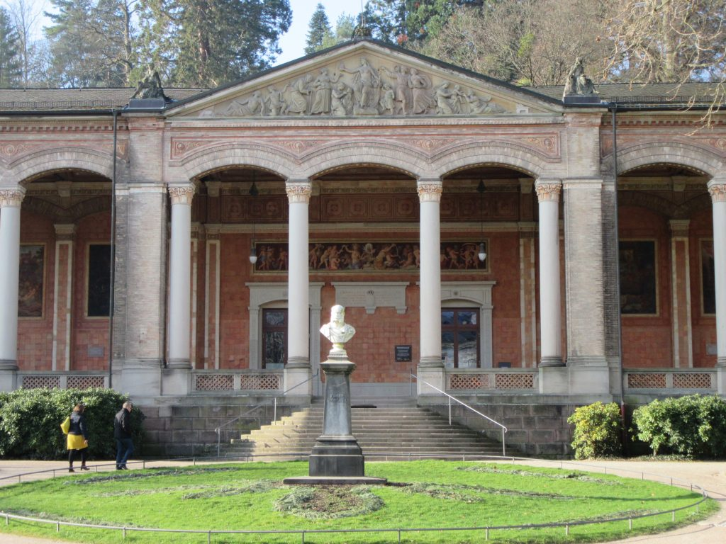 Palace like building at Baden-Baden