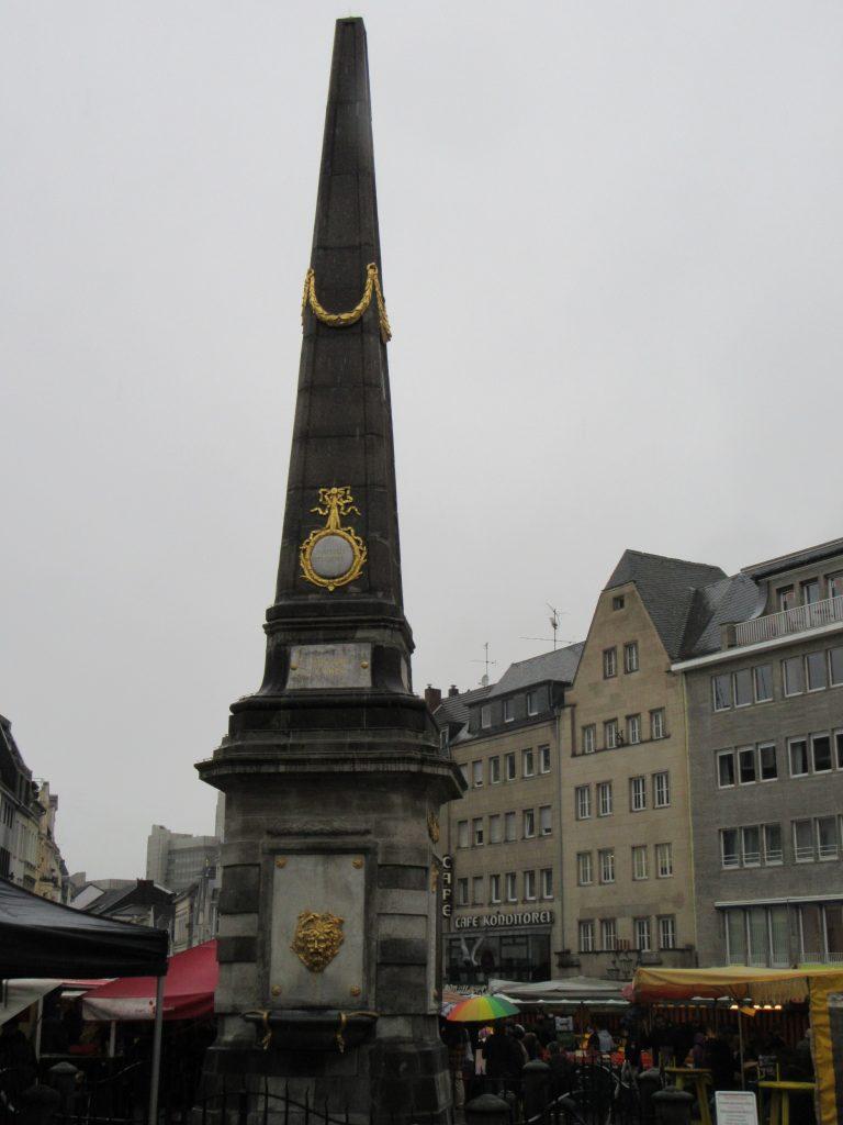 Monument at Bonn city center, Germany
