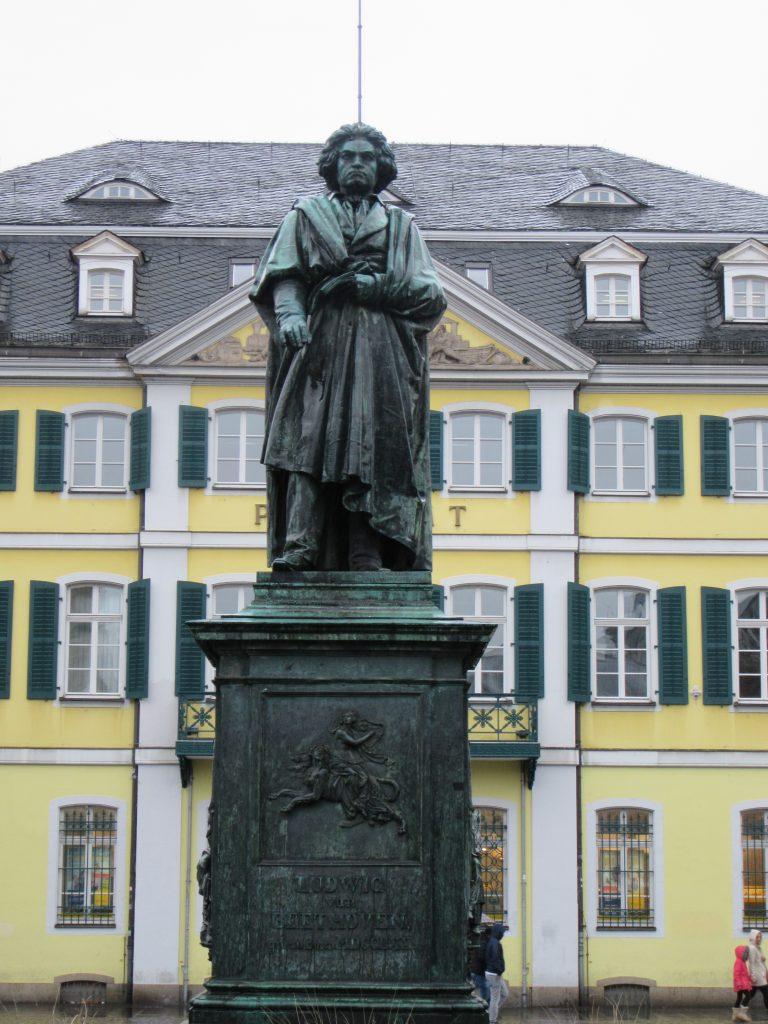 Sculpture of Ludwig Van Beethoven in Bonn, Germany