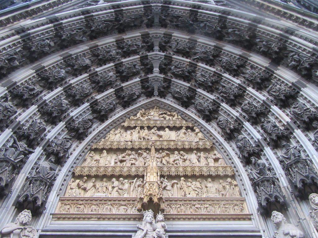 Entrance of Cologne (Köln) Cathedral