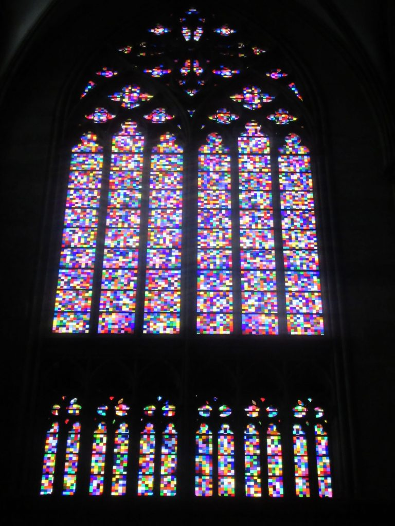 Impressive Stained glass at Cologne (Köln) Cathedral