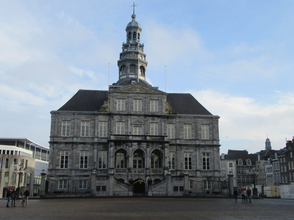 Impressive building at Maastricht