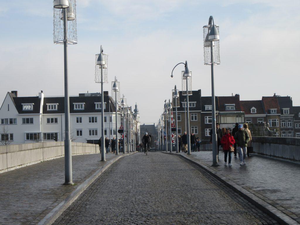 Maastricht bridge in late winter