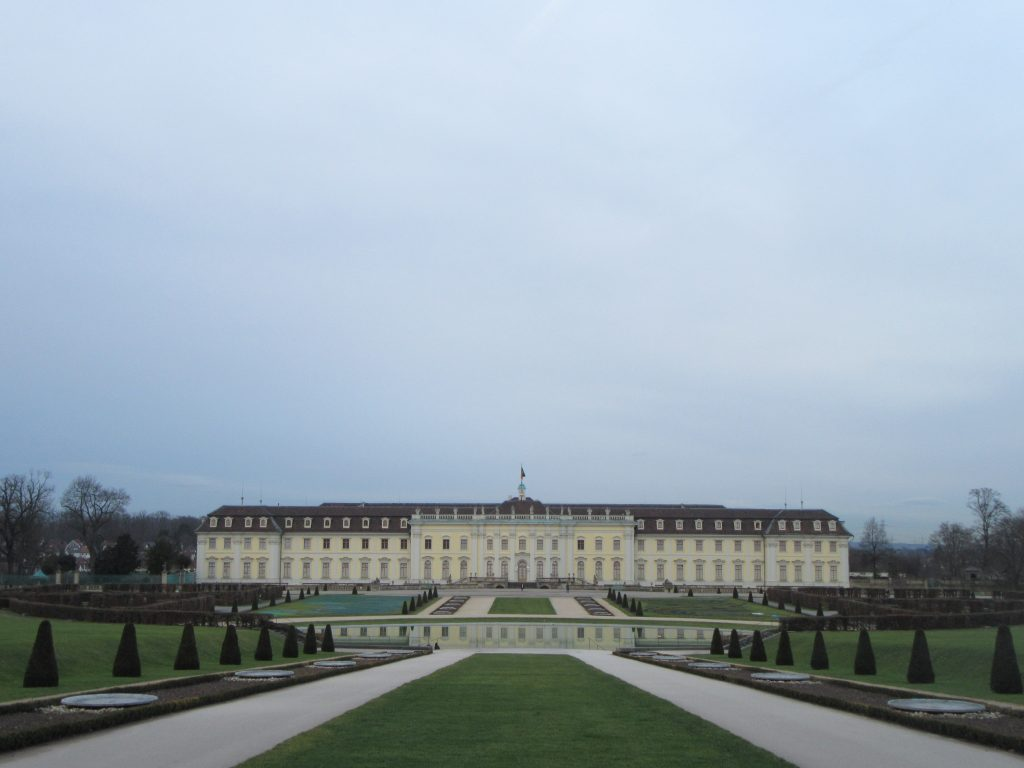 Ludwigsburg Palace from the center, Germany