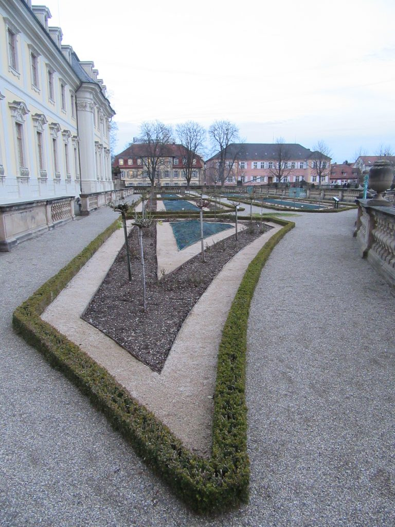 Ludwigsburg Palace winter garden shapes