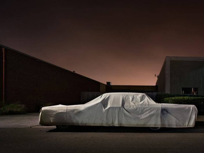 Gerd Ludwig - Beatrice Street, 2012 Car under the cover on the street.