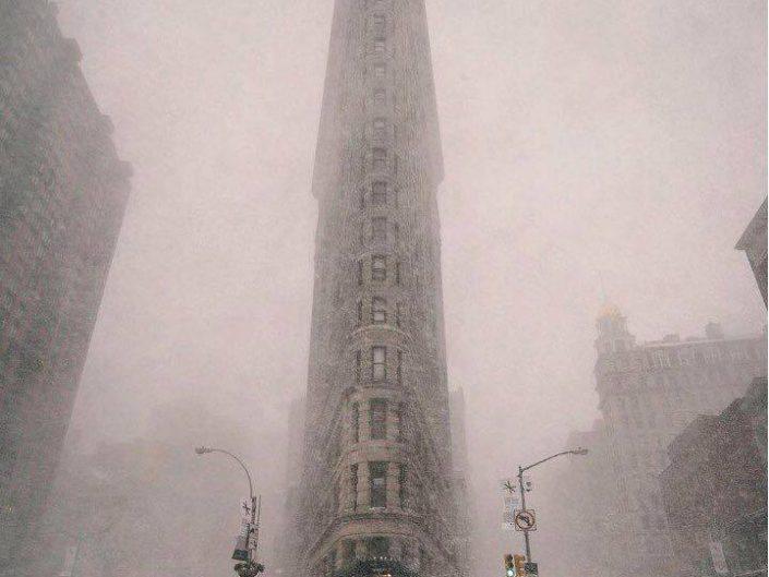 William Anderson - Blizzard in New York 2017