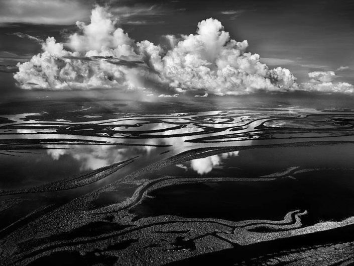 Professional Photography by Sebastio Selgado - Landscape of Rio Negro River Basin in Brasil, 2009.