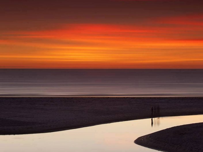 Beautiful evening colors at the beach. Professional photography by Volker Birke - Henley Beach, Adelaide, 2012