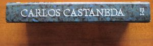 Picture of Hard Cover Book Back by Carlos Castaneda for book review
