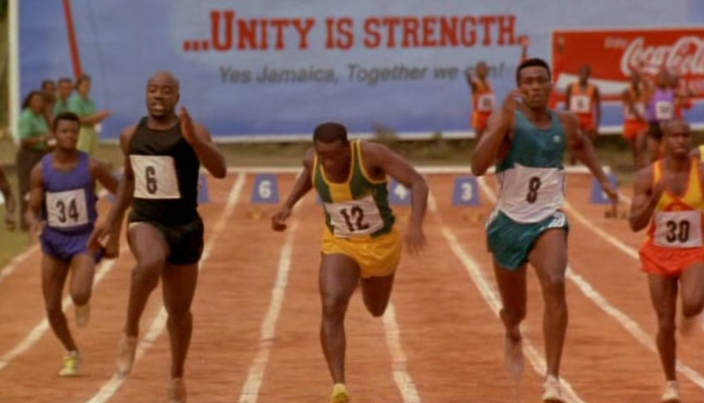 The Ruing trials in Jamaica screenshot from Cool Runnings