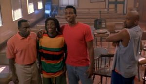 Cool Runnings Team with psychological characters evidently displayed