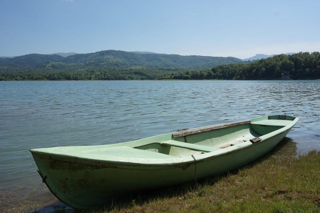 A boat in the lake, Bulgaria