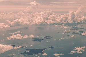 Aerial photo of clouds - dreams - Vipassana