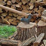 axe in log splitting