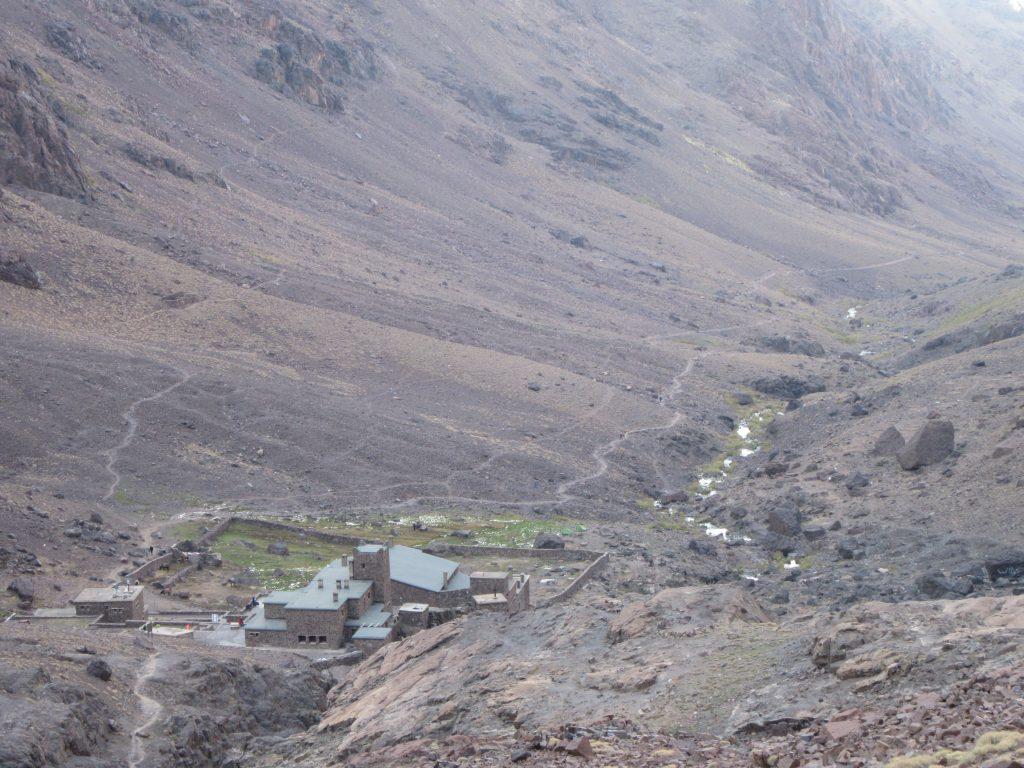 Jbel Toubkal Refuge 3200m October 2018 Valley, Morocco