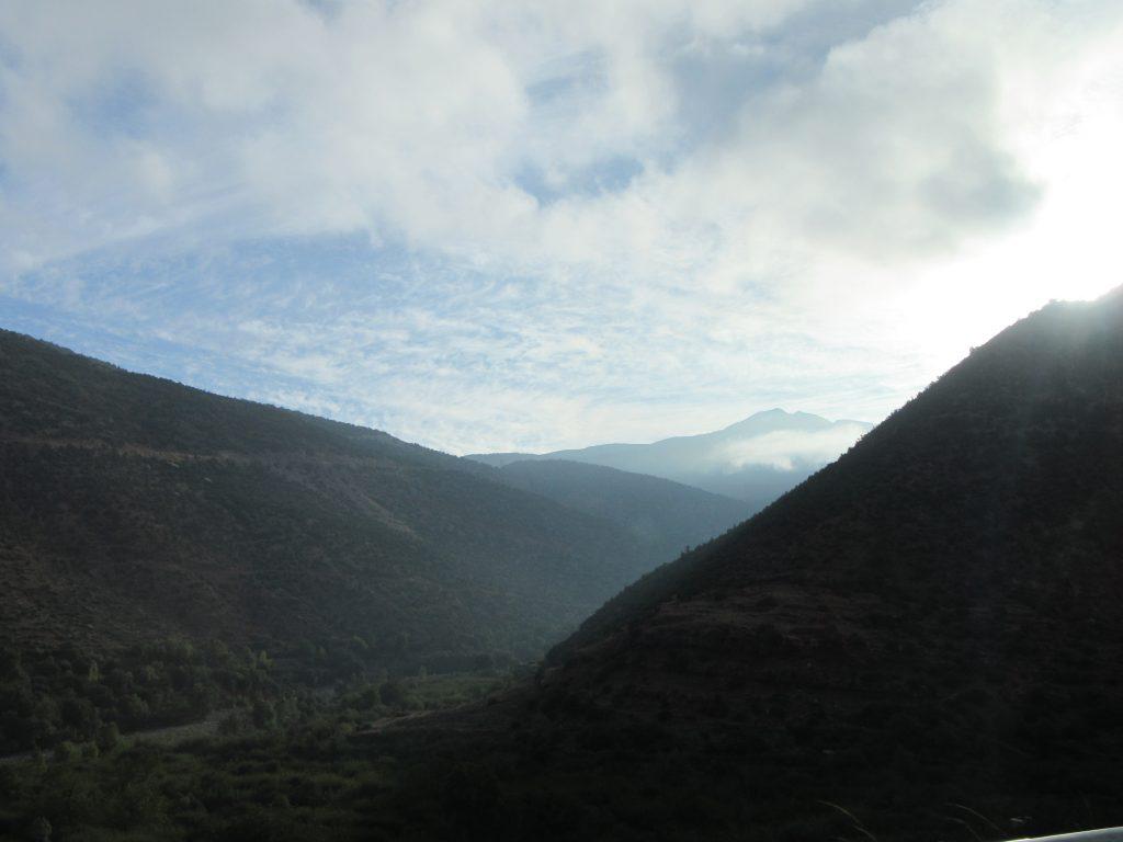 Just... Valley between Atlas Mountains
