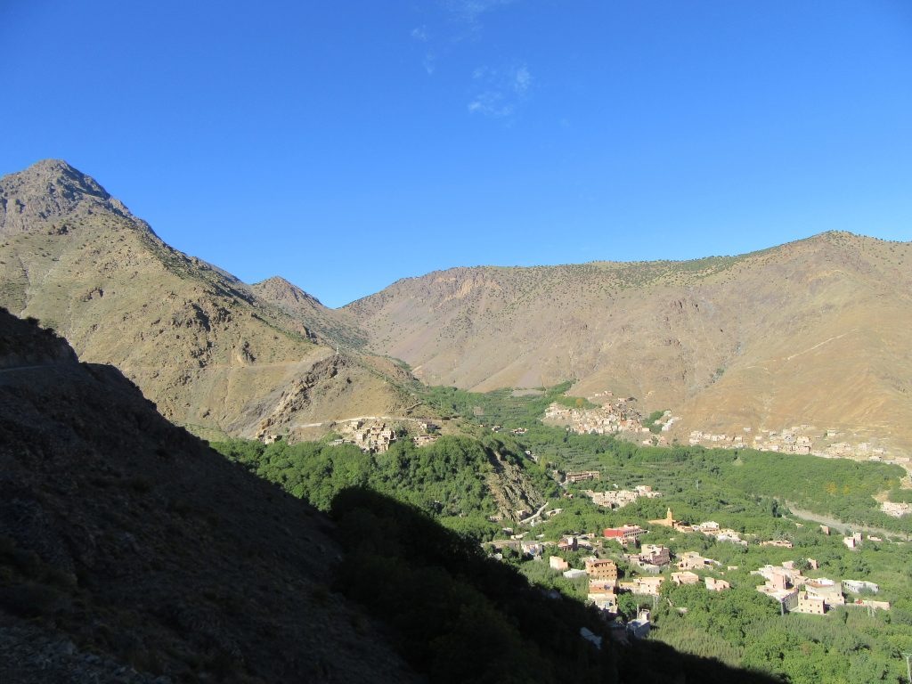 Imlil from above