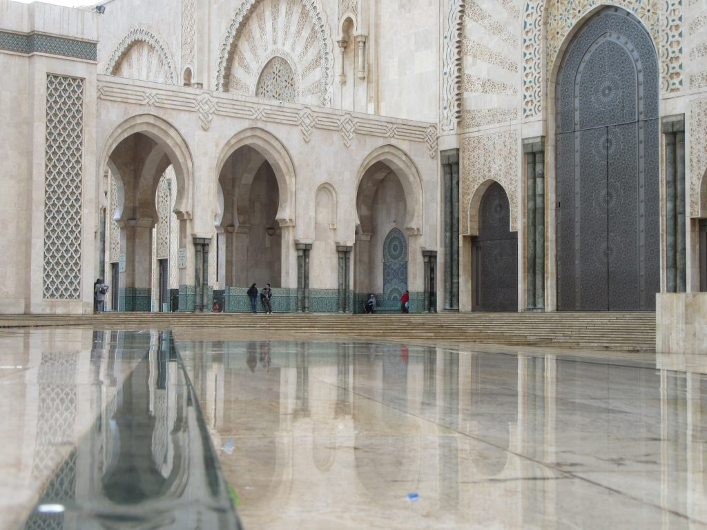 Mosque de Hassan II Casablanca 2018 October rain (1)