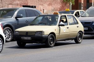 Peugeot 205 taxi in Marrakesh, Morroco generalist lab