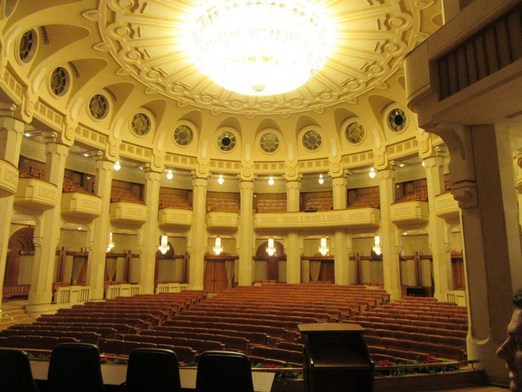 Theatre inside Bucharest Parliament Palace