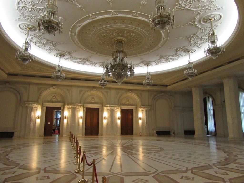 Inside Bucharest Parliament Palace