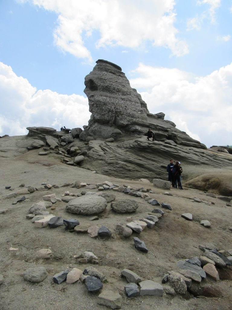 Sphinx in Bucegi Natural Park Romania