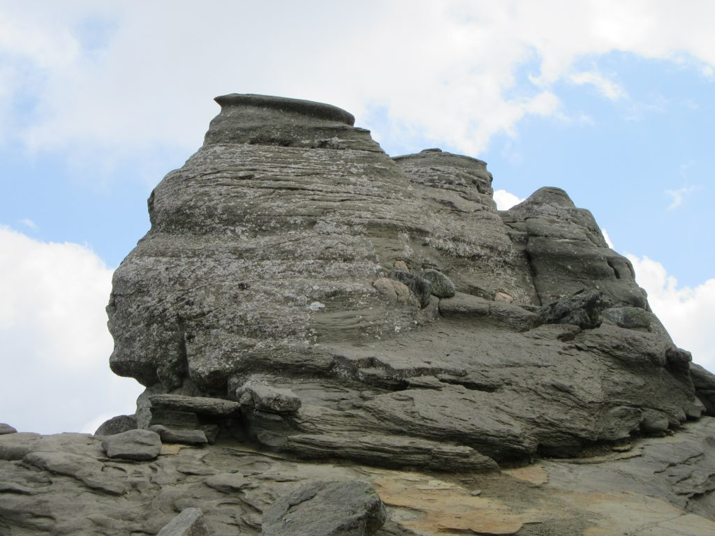 Sphinx Head in Bucegi Natural Park Romania 2019, Road Trip to Romania