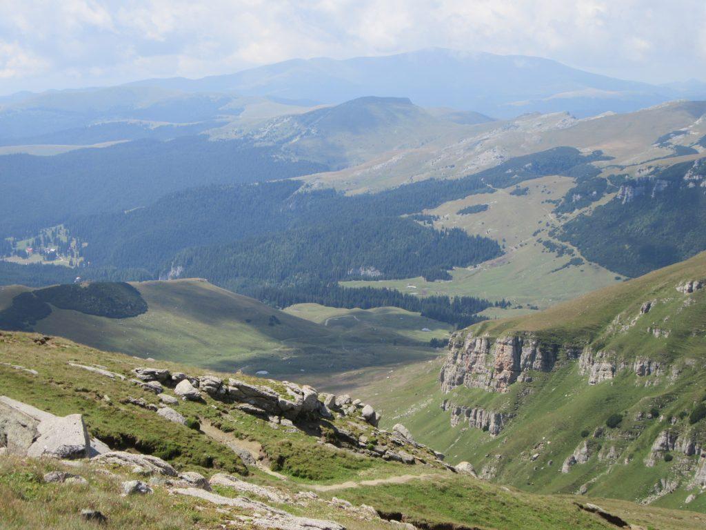 Panorama Bucegi Natural Park Romania 2019