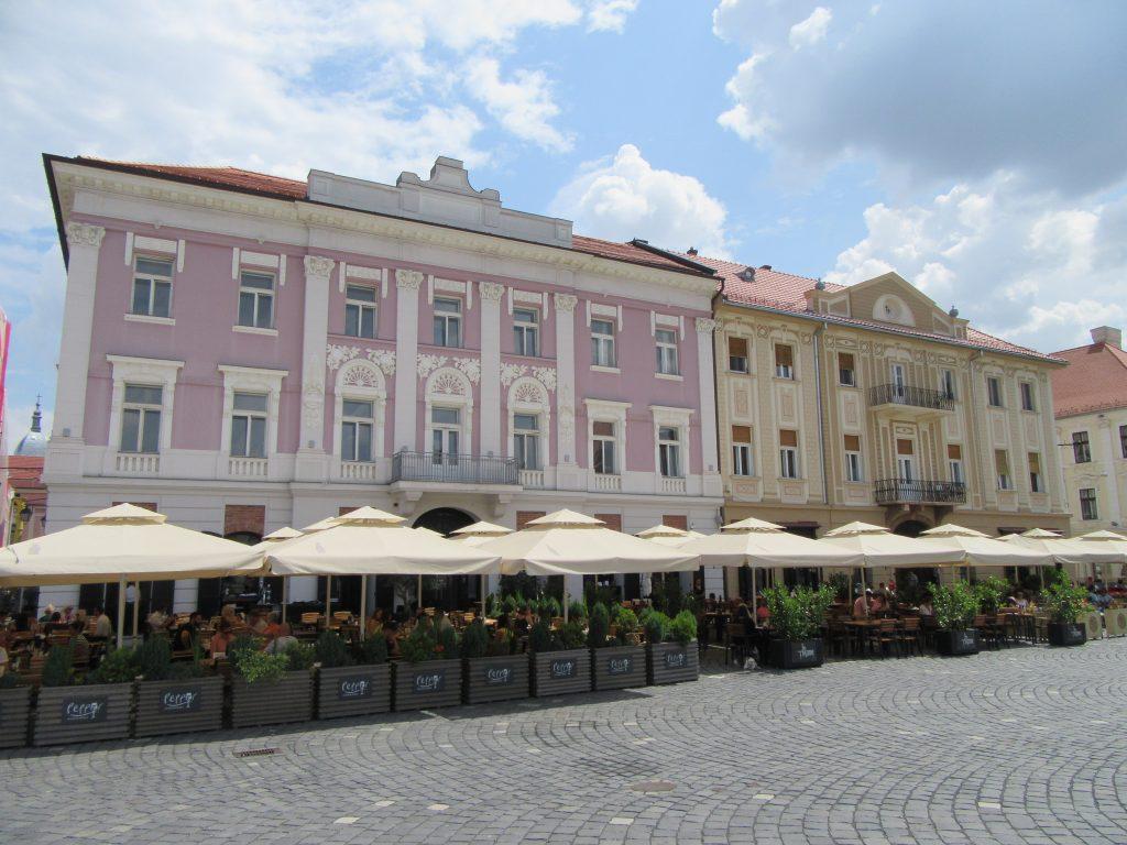 Timisoara Square, Romania