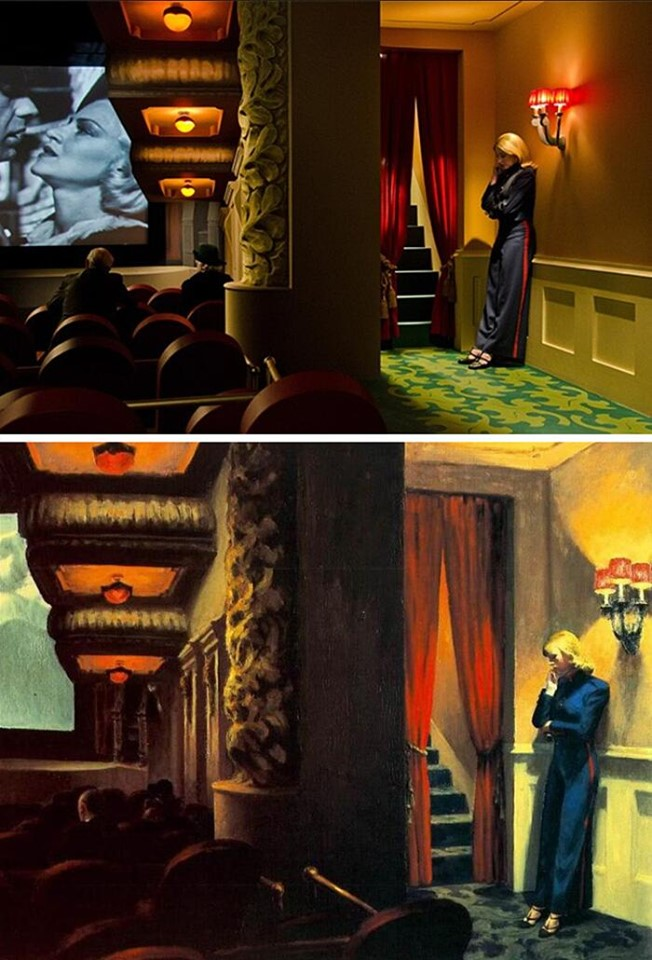 Shirley visions of a reality, Gustav Deutsch (2013) New York, Edward Hopper (1939)