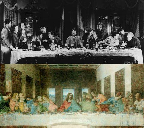 Viridiana by Luis Buñuel (1961), The Last Dinner by Leonardo Da Vinci (1495-1498)