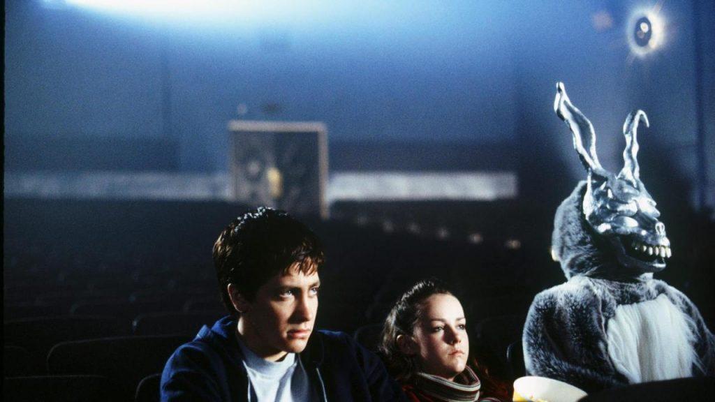 Scene from Donnie Darko in Movie Theather