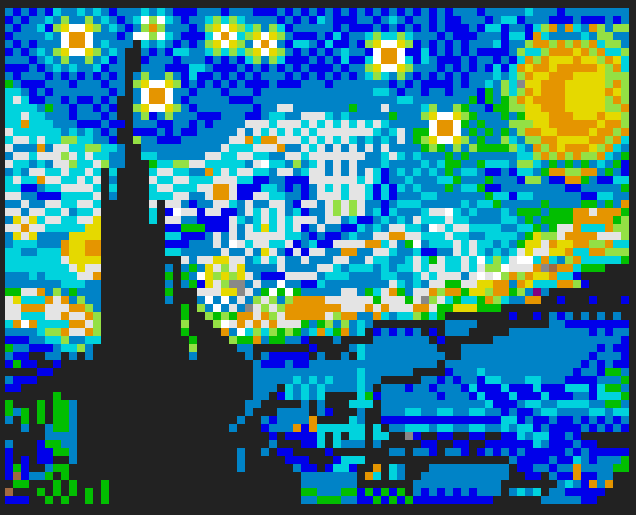 van gogh painting in reddit the place experiment