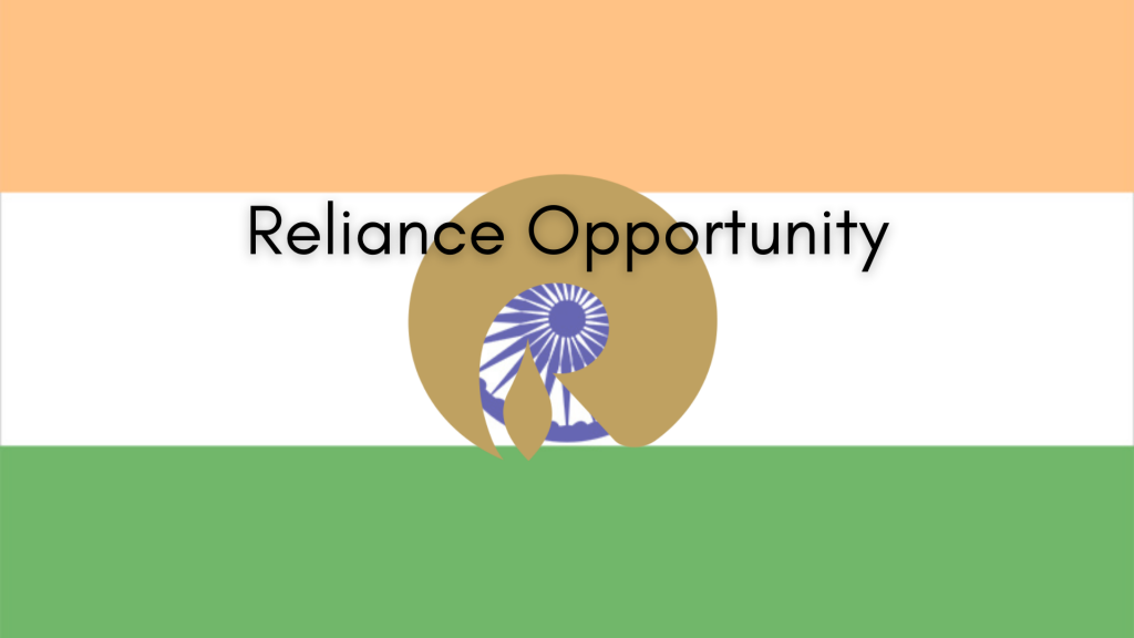 Reliance Industries Opportunity blogpost feature image