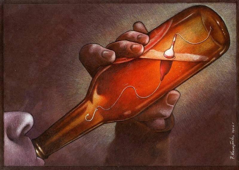 Pawel Kuczynski alcohol