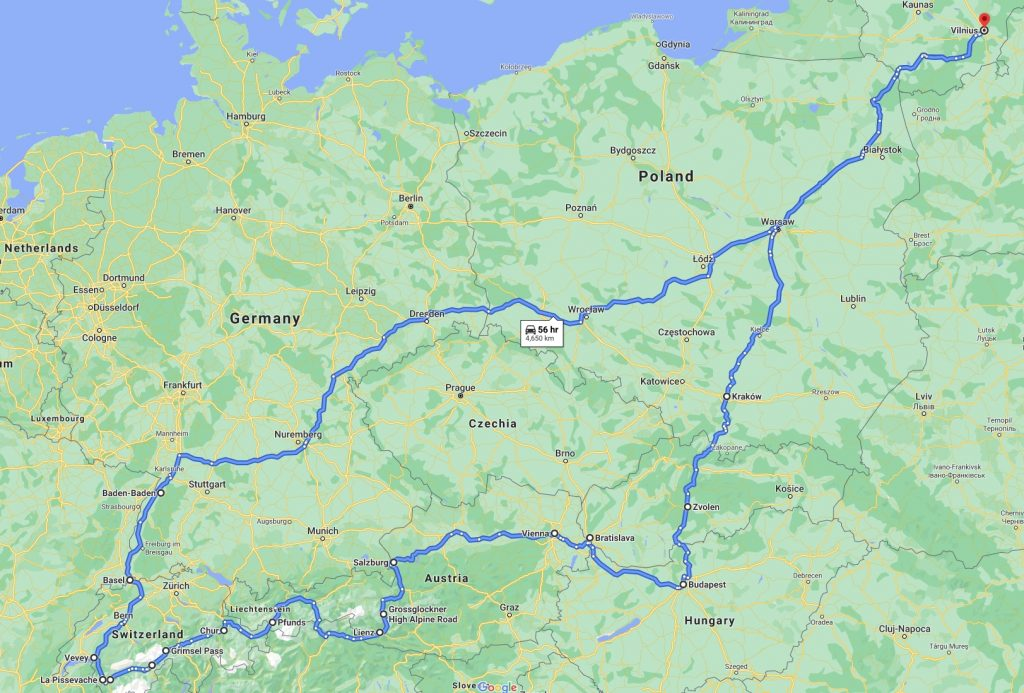 Eurotrip no4. GeneralistLab route